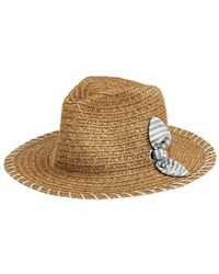 San Diego Hat Company - Fedora With Novelty Bow - Lyst