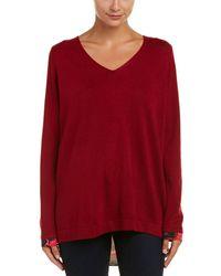 NYDJ - Mixed Media Sweater - Lyst