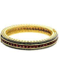 Socheec - Garnet And Diamond Bracelet - Lyst