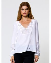 Go> By Go Silk - Go With Nothing But Net Top - Lyst