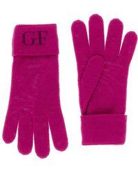 Gianfranco Ferré - Gua01041 Wool Blend Knitted Gloves - Lyst