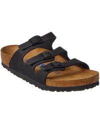 Birkenstock - Florida Leather Sandal - Lyst