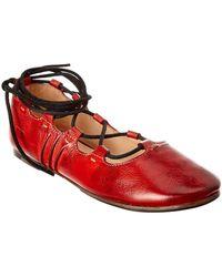 Bed Stu - Margot Leather Flat - Lyst