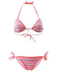 Banana Moon - Corail Two Pieces Swimsuit Lurex Lurex - Lyst