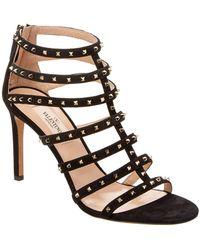 Valentino | Lovestud Leather Sandal | Lyst