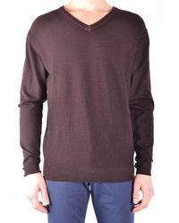 Jacob Cohen - Men's Brown Wool Sweater - Lyst