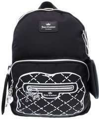Juicy Couture - Womens Faux Real Nylon Printed Backpack - Lyst