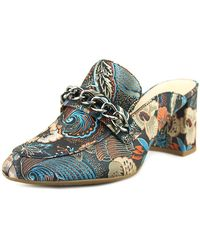 Enzo Angiolini - Gilian Women Round Toe Synthetic Multi Colour Mules - Lyst