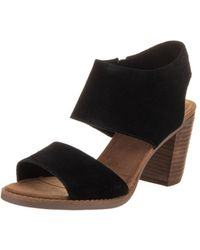 TOMS - Women's Majorca Cutout Sandal - Lyst