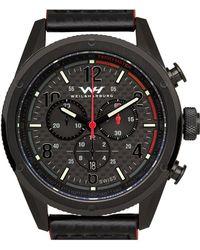 Weil & Harburg - Peake Men¿s Swiss Racing Chronograph Watch - Lyst