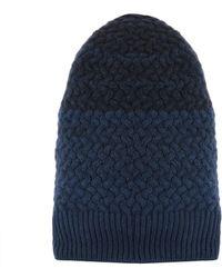 Drumohr - Men's Blue Wool Hat - Lyst