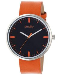 Simplify - Men's The 4500 Quartz Watch - Lyst