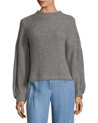 Plenty by Tracy Reese - Ribbed Crewneck Sweater - Lyst