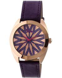 Boum - Etoile Leather-band Watch - Lyst