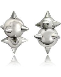 DSquared² - Women's Silver Metal Earrings - Lyst