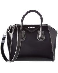 Givenchy - Small Antigona Leather Satchel - Lyst