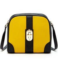 Susu - Baxter Leather Small Crossbody Yellow - Lyst
