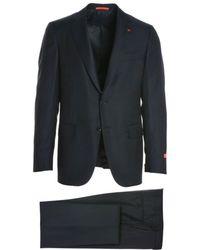 Isaia - Men's Blue Wool Suit - Lyst
