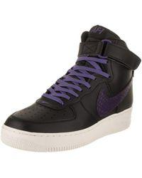 Lyst Nike Air Jordan 1 Mid De Puntera Redonda De Mid Cuero Zapatos De Baloncesto fdd27d