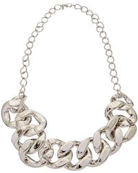 Kenneth Jay Lane - Plated 34in Necklace - Lyst