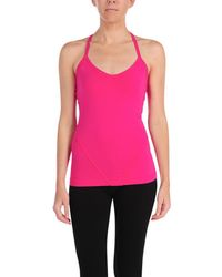 Hard Tail | Sport Seamed Halter With Built In Bra | Lyst