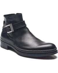 Cesare Paciotti - Men Leather Dan Calf Boots Black - Lyst