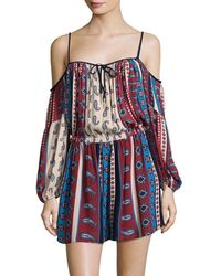 Suboo - Printed Arizona Playsuit - Lyst