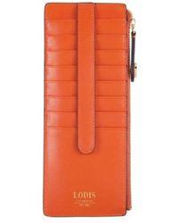 Lodis - Women's Laguna Rfid Credit Card Case With Zipper Pocket - Lyst
