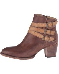 Bed Stu - Womens Begin Leather Closed Toe Ankle Fashion Boots - Lyst