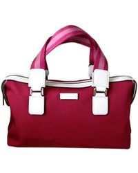 Gucci - Boston Fuschia Bowling Bag 264210 5560 - Lyst