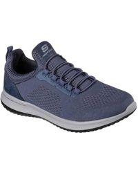 Skechers Delson Brewton Sneaker(Men's) -Black/Black Largest Supplier Cheap Online 4w5Xj