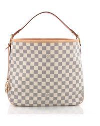 8fa11c843c4cc Lyst - Louis Vuitton Pre Owned Delightful Handbag Monogram Canvas Mm ...
