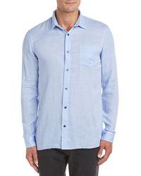 Vince - Woven Shirt - Lyst