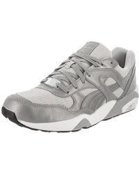 Lyst - Puma Soleil V2 Suede Patent Shoes Size 9 in Black for Men cceef4faf