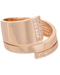 Effy - Fine Jewelry 14k Rose Gold 0.21 Ct. Tw. Diamond Ring - Lyst