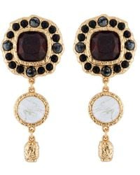 Les Nereides - Byzantine Treasures Earrings - Lyst