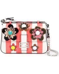 00f2793a3f Fendi - Women s Multicolor Leather Shoulder Bag - Lyst