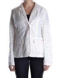 Add - Women's White Polyamide Blazer - Lyst