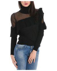 Jucca - Women's Black Wool Sweater - Lyst