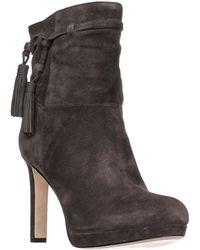 Via Spiga - Bristol Pull On Tassel Ankle Boots - Steel - Lyst