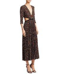 A.L.C. - Reece Silk Dress - Lyst