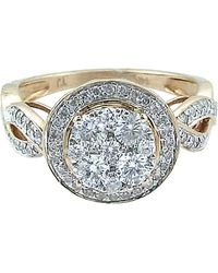 Tia Collections - 0.90ctw Rose Gold Ring-14kt - Lyst