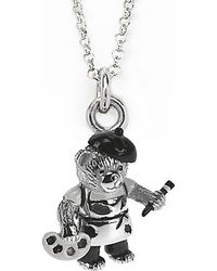 Jan Leslie - Artistic Bear Pendant / Charm Necklace - Lyst