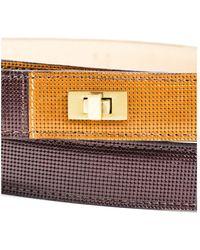 Lela Rose - Nwt Brown Camel Gold Tone Hardware Wrap Belt Sz M - Lyst