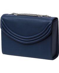 Lauren Cecchi New York - Mezzo Medium Chain Handbag In Navy - Lyst