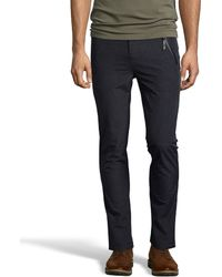 Matiere - Anthracite Micro-striped Nylon 'cole' Pants - Lyst