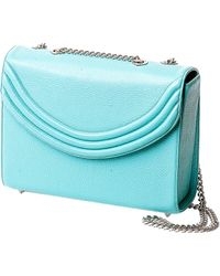 Lauren Cecchi New York - Mezzo Medium Chain Handbag In Paradise Blue - Lyst