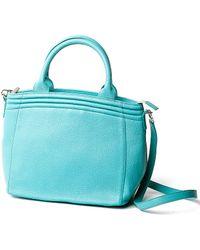 Lauren Cecchi New York - Getaway Top Handle Bag In Paradise Blue - Lyst