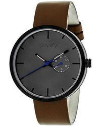 Simplify - Men's The 3900 Quartz Watch - Lyst