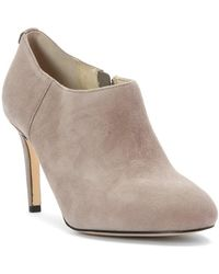Michael Kors - Womens Sammy Ankle Boot Leather Almond Toe Ankle Fashion Boots - Lyst